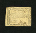 Colonial Notes:North Carolina, North Carolina August 8, 1778 $1 About New. Only a center fold isfound on this note....