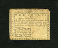 Colonial Notes:North Carolina, North Carolina August 8, 1778 $1 Very Good. The top of the centerfold has an approximate half inch tear, while the bottom o...