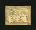 Colonial Notes:Pennsylvania, Pennsylvania October 1, 1773 2s Extremely Fine. Light handling isobserved on this note....