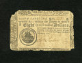 Colonial Notes:South Carolina, South Carolina December 23, 1776 $8 Very Good. Edge wear is noticedon this example....
