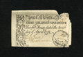 Colonial Notes:South Carolina, South Carolina April 10, 1778 3s/9d Fine. The top edge reveals amissing cleave, plus there are other small pieces missing....
