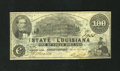 Obsoletes By State:Louisiana, Shreveport, LA- State of Louisiana $100 Mar. 10, 1863. On this note the handling for the most part is broad corner folds. ...