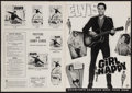 """Movie Posters:Elvis Presley, Girl Happy and Other Lot (MGM, 1965). Uncut Pressbooks (2) (Multiple Pages, 8.5"""" X 13"""" & 12.5"""" X 17""""). Elvis Presley.. ... (Total: 2 Items)"""