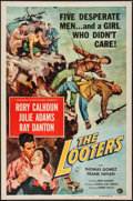 "Movie Posters:Adventure, The Looters (Universal International, 1955). One Sheet (27"" X 41""). Adventure.. ..."