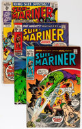 Silver Age (1956-1969):Superhero, The Sub-Mariner Group (Marvel, 1968-73) Condition: AverageVG/FN.... (Total: 71 Comic Books)