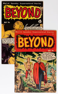 The Beyond #6 and 11 Group (Ace, 1951-52).... (Total: 2 Comic Books)