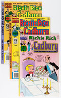Bronze Age (1970-1979):Cartoon Character, Richie Rich and Cadbury File Copies Group (Harvey, 1971-91)Condition: Average NM-.... (Total: 56 Comic Books)