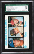 Baseball Cards:Singles (1970-Now), 1973 Topps Mike Schmidt/Cey Rookie #615 SGC 70 EX+ 5.5....
