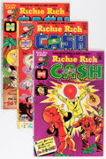 Bronze Age (1970-1979):Cartoon Character, Richie Rich Cash File Copies Group (Harvey, 1974-82) Condition:Average NM-.... (Total: 120 Comic Books)