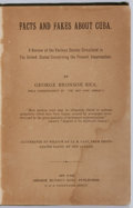 Books:World History, George Bronson. INSCRIBED. Facts and Fakes About Cuba. George Munro's Sons, [1897]. First edition. Inscribed by the author...