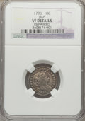 Early Dimes, 1796 10C -- Repaired -- NGC Details. VF. JR-6, R.3....