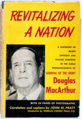 Books:Americana & American History, Douglas MacArthur. Revitalizing a Nation. HeritageFoundation, 1952. First edition. Gift copy, with a gift bookp...