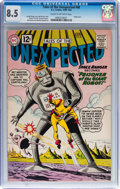 Golden Age (1938-1955):Science Fiction, Tales of the Unexpected #68 (DC, 1962) CGC VF+ 8.5 Cream tooff-white pages....
