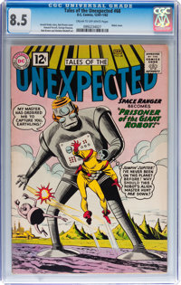 Tales of the Unexpected #68 (DC, 1962) CGC VF+ 8.5 Cream to off-white pages