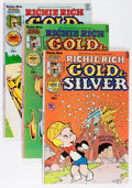 Bronze Age (1970-1979):Cartoon Character, Richie Rich Gold and Silver File Copy Short Box Group (Harvey,1975-82) Condition: Average NM-....