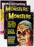 Magazines:Miscellaneous, Assorted Monster Magazines Box Lot (Various Publishers, 1962-74)Condition: Average VG....