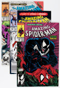 Modern Age (1980-Present):Superhero, The Amazing Spider-Man #290-434 Near Complete Range Short Box Group(Marvel, 1987-98) Condition: Average NM....