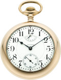Timepieces:Pocket (post 1900), Waltham 18 Size Vanguard Model 92 Wind Indicator, circa 1909. ...