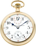 Timepieces:Pocket (post 1900), Rockford 21 Jewel Grade 655 Wind Indicator, circa 1910. ...