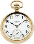 Timepieces:Pocket (post 1900), Ball 18 Size Grade 999 Brotherhood of Locomotive Firemen & Engineer Standard, circa 1935. ...