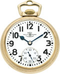 Timepieces:Pocket (post 1900), Ball 998 Elinvar 23 Jewel Official Railroad Standard, circa 1930....