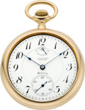 Timepieces:Pocket (post 1900), Waltham 18k Gold Premier Maximus, circa 1910. ...