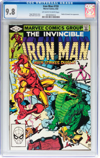Iron Man #159 (Marvel, 1982) CGC NM/MT 9.8 Off-white to white pages