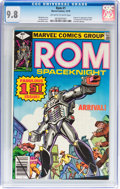 Bronze Age (1970-1979):Superhero, Rom #1 (Marvel, 1979) CGC NM/MT 9.8 Off-white to white pages....