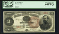 Large Size:Treasury Notes, Fr. 353 $2 1890 Treasury Note PCGS Very Choice New 64PPQ.. ...