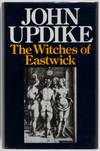 John Updike. SIGNED. The Witches of Eastwick. Andre Deutsch, 1984. First English edi