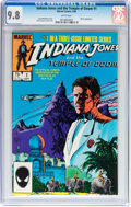 Modern Age (1980-Present):Miscellaneous, Indiana Jones and the Temple of Doom #1 (Marvel, 1984) CGC NM/MT 9.8 White pages....