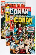 Bronze Age (1970-1979):Adventure, Conan the Barbarian Group (Marvel, 1970-71).... (Total: 6 Comic Books)