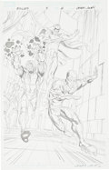Original Comic Art:Splash Pages, Casey Jones Exiles #5 Penciled Splash Page 2 Original Art(Marvel, 2009)....