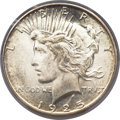Peace Dollars, 1925-S $1 MS65 PCGS....