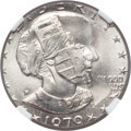 Errors, 1979-P SBA$ Anthony Dollar -- Overstruck on a 1978 Jefferson Nickel-- MS67 NGC....