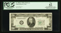 Error Notes:Shifted Third Printing, Fr. 2060-G $20 1950A Federal Reserve Note. PCGS Apparent New 62.. ...