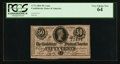 Confederate Notes:1864 Issues, T72 50 Cents 1864 PF-1 Cr. 578.. ...