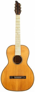 Musical Instruments:Acoustic Guitars, 1920's Unknown American Natural Parlor Guitar. ...