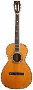 Musical Instruments:Acoustic Guitars, 1920's Chicago Made Natural Parlor Guitar. ...