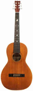 Musical Instruments:Acoustic Guitars, 1898 Bohmann Natural Parlor Acoustic Guitar, Serial # 145651....