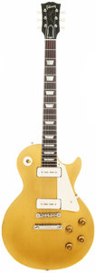 Musical Instruments:Electric Guitars, 1956 Gibson Les Paul Gold Top Solid Body Electric Guitar, Serial # 6 8222. ...