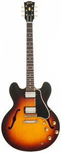 Musical Instruments:Electric Guitars, 1960 Gibson ES-335 Semi-Hollow Body Electric Guitar, Serial #A34467....