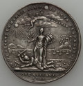 "Betts Medals, Contemporary Copy of 1783 Peace of Versailles Medal XF40 HoledUncertified. Type of Betts-610. Silver, 39 mm. Edge marked ""C..."
