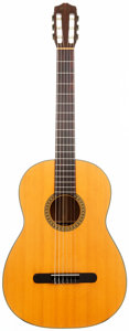 Musical Instruments:Acoustic Guitars, 1975 Martin N-10 Natural Classical Guitar, Serial # 365499....