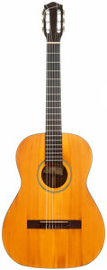 Musical Instruments:Acoustic Guitars, 1964 Gretsch Model 6001 Natural Classical Guitar, Serial # 65129....