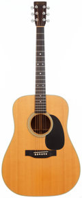 Musical Instruments:Acoustic Guitars, 1976 Martin D-28 Natural Acoustic Guitar, Serial # 377876....