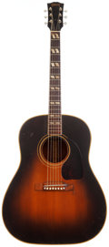 Musical Instruments:Acoustic Guitars, 1953 Gibson SJ Sunburst Acoustic Guitar, Serial # Y5084....
