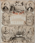 "Books:Music & Sheet Music, [Sheet Music]. E. P. Christy. Ethiopian Melodies: Julius'Bride. New York: William Vanderbeek, 1848. 10.25"" x 12.5""...."