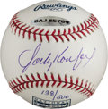 Baseball Collectibles:Balls, Sandy Koufax Single Signed UDA Baseball....