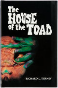 Books:Horror & Supernatural, Richard L. Tierney. The House of the Toad. Fedogan &Bremer, 1993. First edition. Publisher's original black clo...